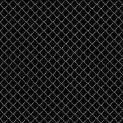 Seamless mesh netting on black background. Stock Illustration