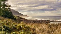 The Oregon Coast - stock photo