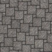 Gray with Scuffed Pavement Square Shape Stock Illustration