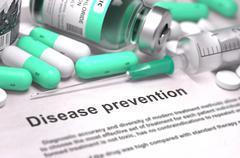 Disease Prevention. Medical Concept - stock illustration