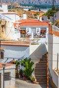 Stock Photo of Guadix, villages in the province of Granada Andalucia, Southern Spain
