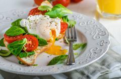 Fresh Healthy Breakfast - stock photo