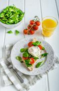 Fresh Healthy Breakfast - stock photo