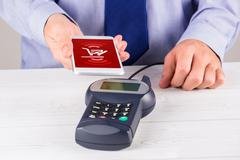 Stock Photo of Composite image of payment screen