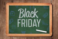 Composite image of black friday advert - stock photo