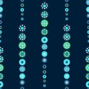 Abstract seamless blue pattern season holidays Stock Illustration