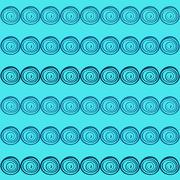 Abstract seamless turquoise pattern season holidays - stock illustration