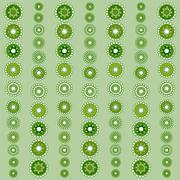 Abstract seamless green pattern season holidays - stock illustration
