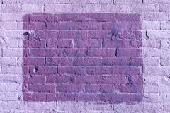 Brick texture with scratches and cracks - stock photo