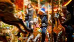 Merry Go Round - stock footage
