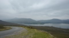 Stock Video Footage of Bealach Na Bà