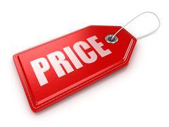 Price label - stock illustration