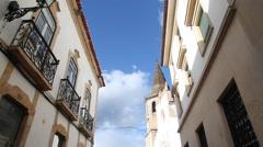 Tomar street view - stock footage