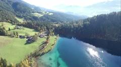 flight over austria, tirol  - stock footage