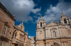 Detail of the cathedral city of Mdina, Malta Kuvituskuvat