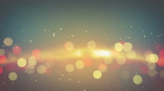 Orange light flares abstract background loop 4k (4096x2304) Stock Footage