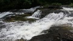 Huay Luang Waterfall in Ubonratchathani at Thailand - stock footage