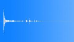 Bullet Drop Lino 04 Sound Effect