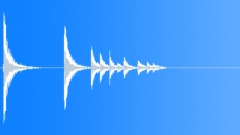 Bullet Drop Metal 05 Sound Effect