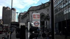 London Waterloo station  - Extreme Slow Motion - stock footage