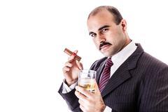 Classy man - stock photo
