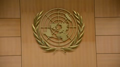 United Nations Office at Geneva Stock Footage