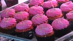 Cupcakes - stock footage