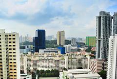 Singapore architecture Stock Photos