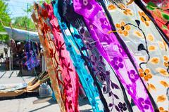 Georgia shawl Stock Photos