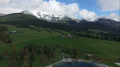 Flight over austria, tirol  Stock Footage