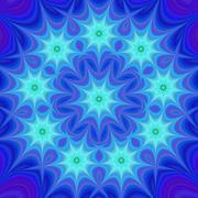 Blue star design background - stock illustration