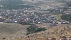 ISIS Held Village Seen from Kurdish Outpost - stock footage