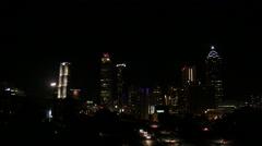Stock Video Footage of Atlanta Skyline Medium Shot