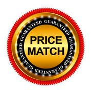 Price Match Guarantee Gold Label Sign Template Vector Illustrati - stock illustration