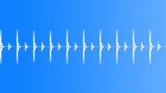 Clocking - Ten Sec Repetitive Fx - sound effect