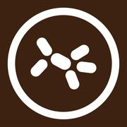 Yeast Rounded Vector Icon - stock illustration