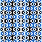 Black and blue seamless pattern Stock Illustration