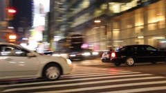 Town Cars and other Traffic Stock Footage