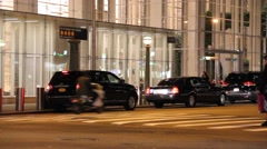 Traffic and Pedestrians in New York City Stock Footage