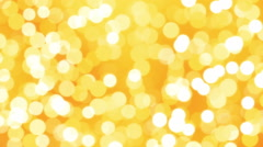 Golden Loopable Soft Background Stock Footage