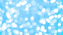 Bright and Blue Loopable Soft Background Stock Footage