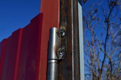 The welded loops for gate Kuvituskuvat