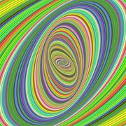Colorful ellipse fractal design background Stock Illustration