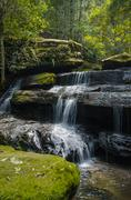 Stock Photo of Waterfall with long exposuer