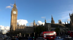 Westminster Palace - Extreme Slow Motion 240fps - stock footage