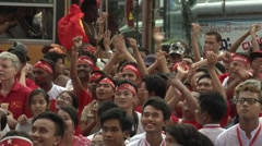 Stock Video Footage of Myanmar Election Celebrations