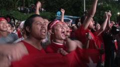 Myanmar Election Celebrations - stock footage
