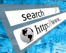 search - stock illustration