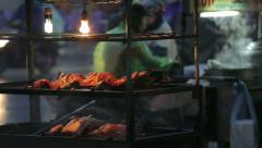 Street food in Asia Stock Footage