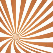 Light brown converging ray design Stock Illustration